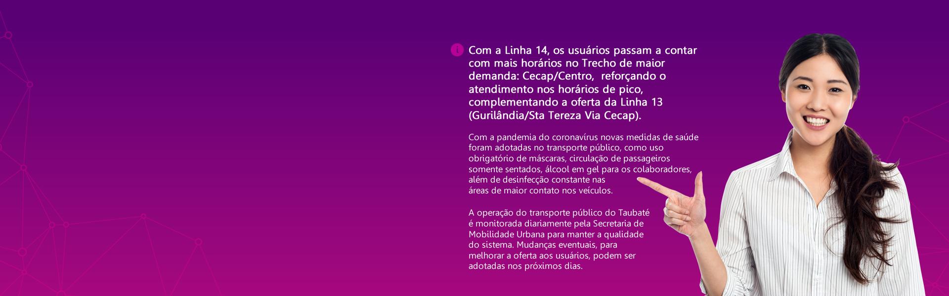 NOVA LINHA CECAP/CENTRO REFORÇA O TRANSPORTE